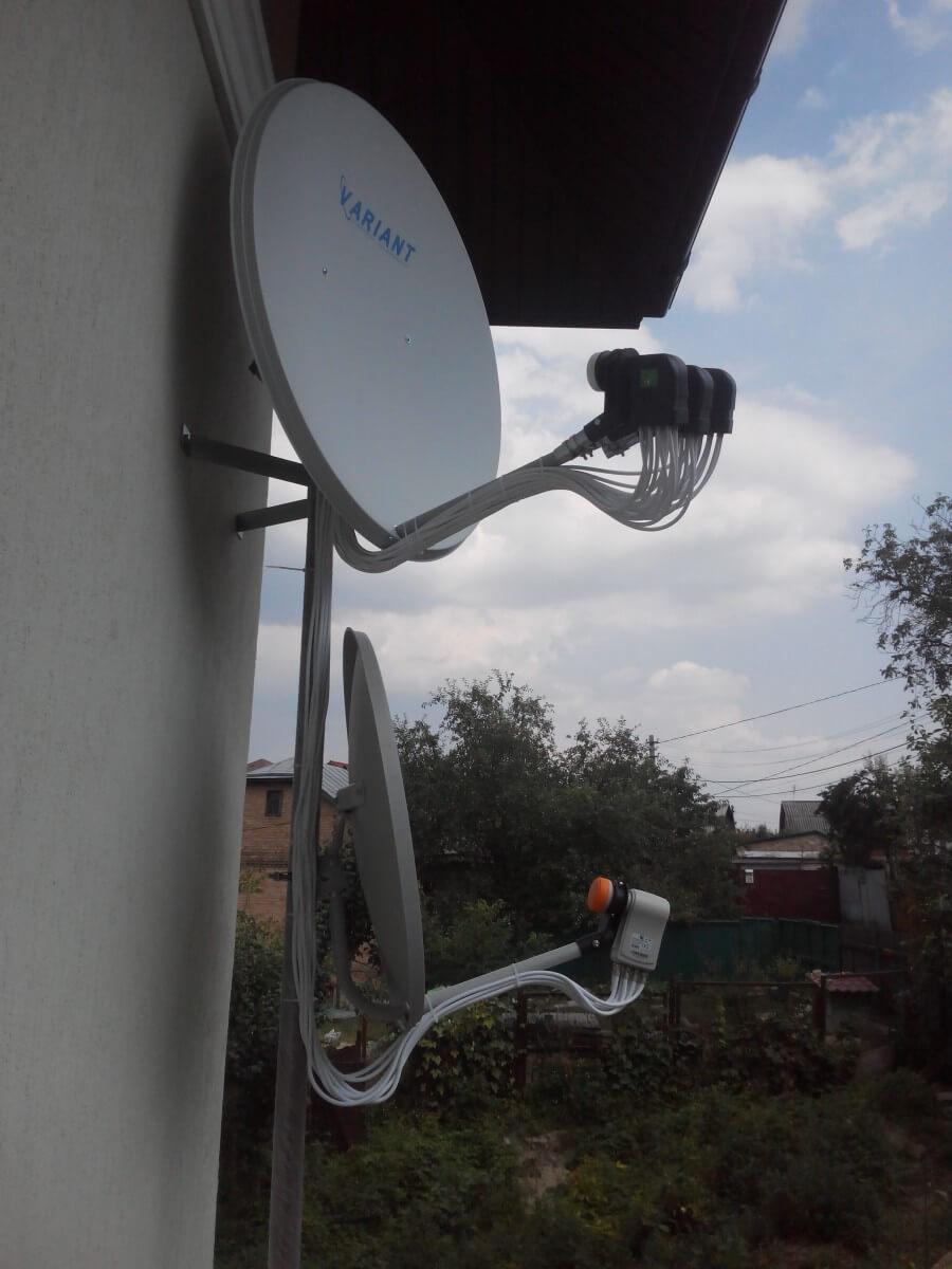 Фото антенн на восемь телевизоров