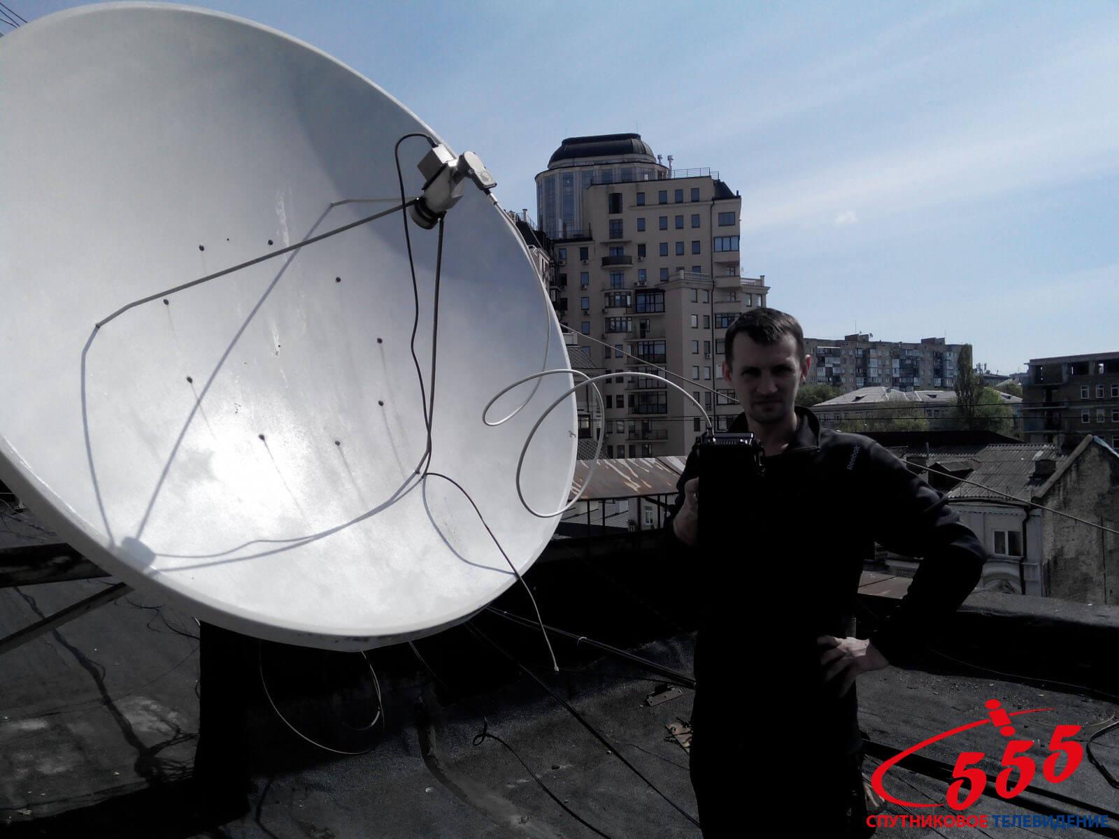 Настройка антенны Саксаганского