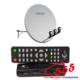 Бюджетный комплект для спутникового ТВ на 1 телевизор