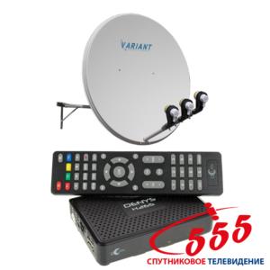 Премиум комплект для спутникового ТВ на 1 телевизор