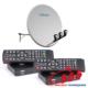 Бюджетный комплект для спутникового ТВ на 2 телевизора
