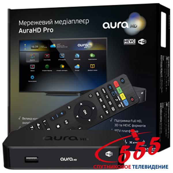 Smart TV приставка Aura HD Pro
