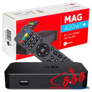 4K Smart TV приставка MAG 420W1