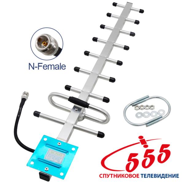 Направленная антенна GSM 900 МГц усиление 13 дБ