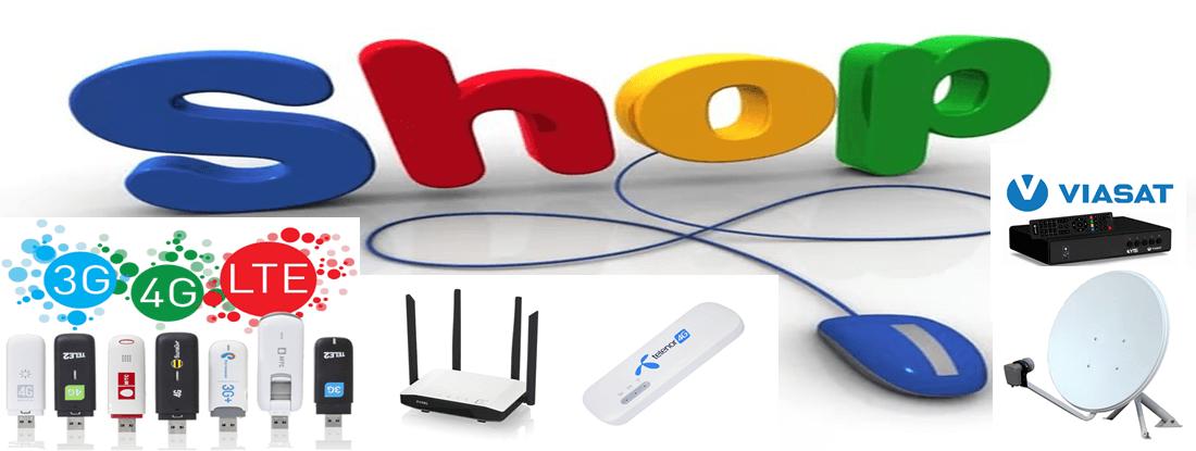 Интернет магазин спутникового телевидения и 4g оборудования