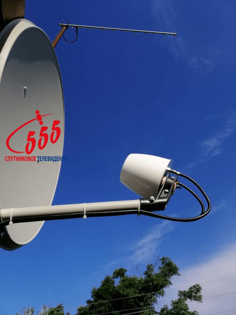 Установка 4G MIMO антенна Ольхон