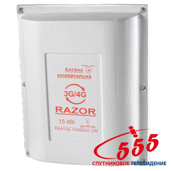 Панельная 3G/4G антенна Razor 15 дБ