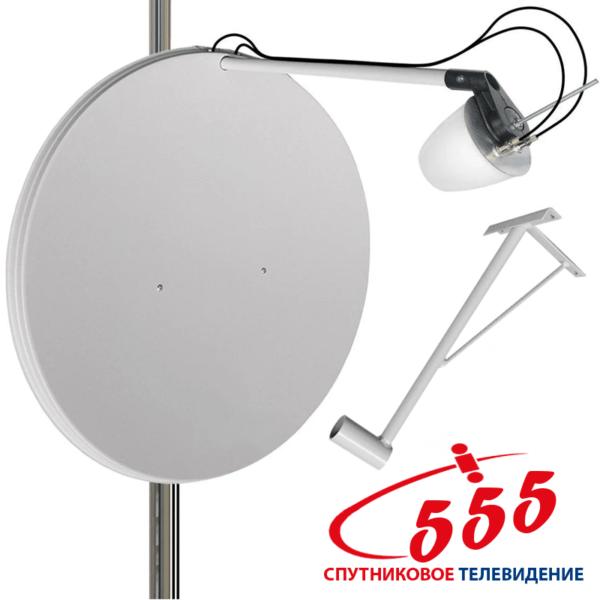 Комплект 3G-4G антенн (MIMO 2x2) Ольхон+Тарелка 23 дБ