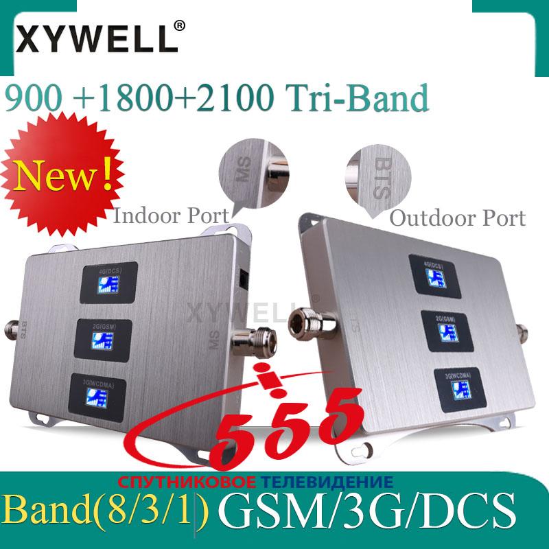 Универсальный усилитель мобильной связи GSM/3G/DCS