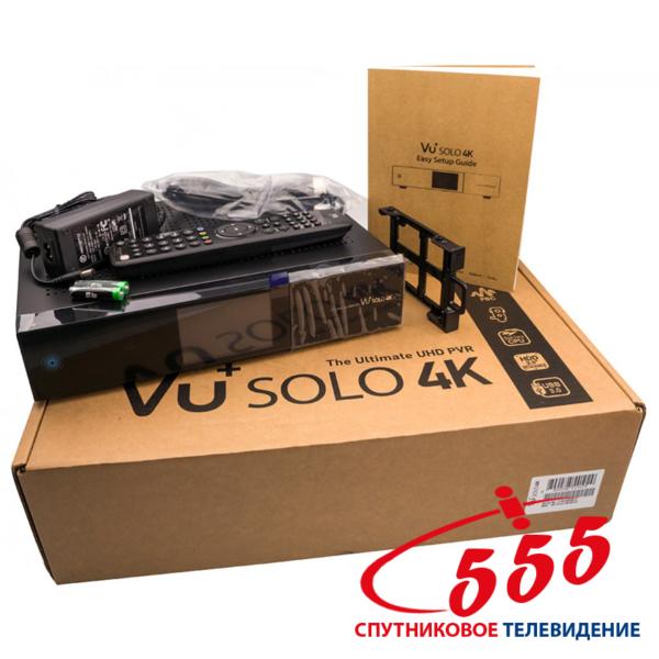 Спутниковый ресивер VU+ Solo 4K