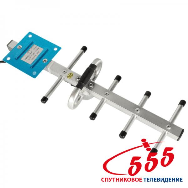 Спрямована антена GSM 900 МГц посилення 8 дБ