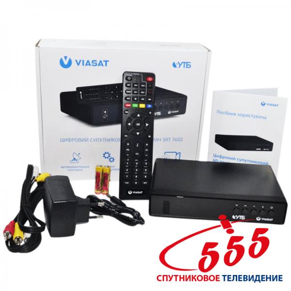 Супутниковий ресивер Strong SRT 7602 (Viasat Verimatrix)