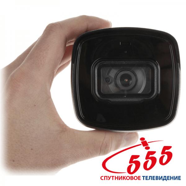 HD-CVI відеокамера Dahua DH-HAC-HFW1500TLP-A (2.8 ММ) 5Мп