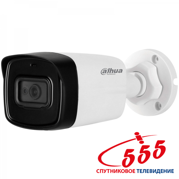 HD-CVI видеокамера Dahua DH-HAC-HFW1500TLP-A (2.8 ММ) 5Мп